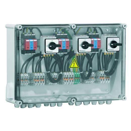 Weidmüller PV DC 2INX3 3SW 3MPPT 3SPD CG 1000V 7504811013 Overspanningsveilige aansluitkast Overspanningsbeveiliging vo
