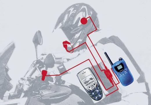 IMC HS100 HS 100 Headset met microfoon Geschikt voor (helm): Universeel