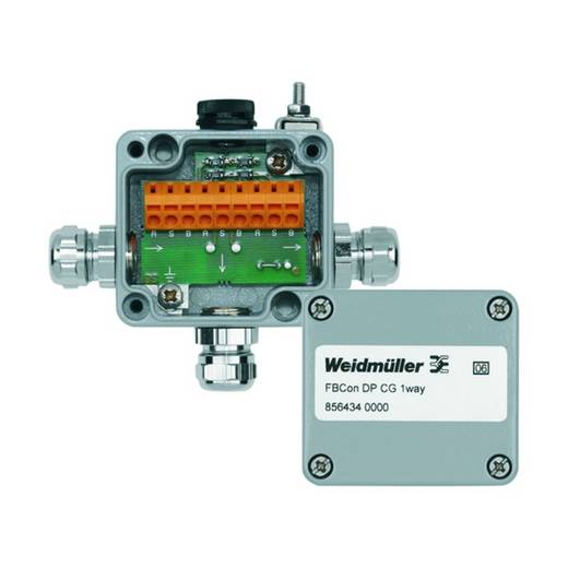 Passieve sensor/actorbox Profibus-DP standaardverdeler met bus aansluiting