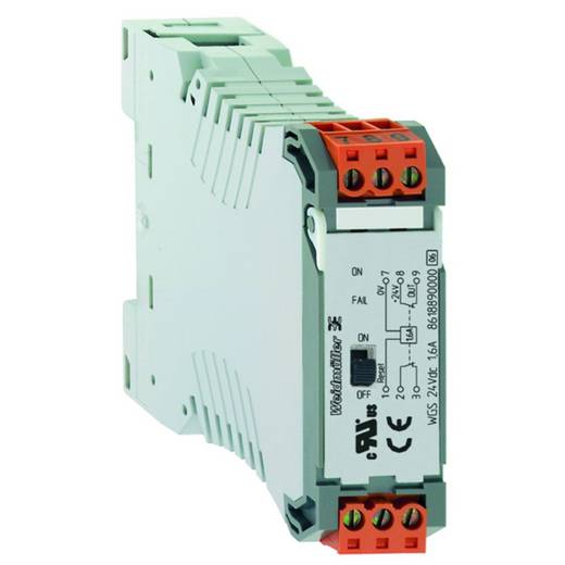 Elektronische zekering Weidmüller WGZ 24Vdc 1,6A 8621040000