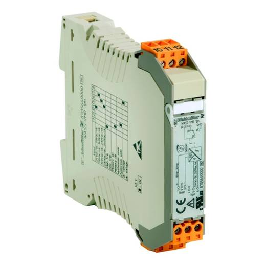 Signaalomvormer/-scheider WAS5 VCC HF 0-10/4-20MA Fabrikantnummer 8447340000WeidmüllerInhoud: 1 stuks