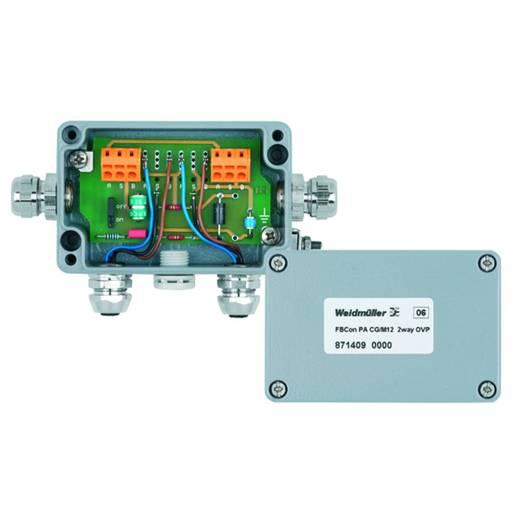 Standaardverdeler met overspanningsbeveiliging FBCON PA CG/M12 2WAY OVP We