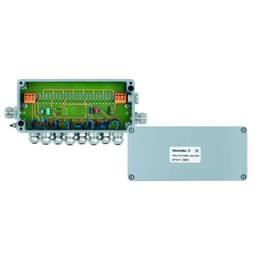 Standaardverdeler met overspanningsbeveiliging FBCON PA CG/M12 8WAY OVP We