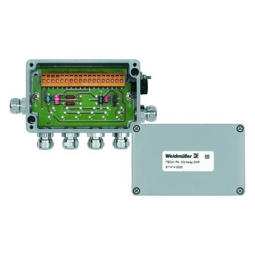 Standaardverdeler met overspanningsbeveiliging FBCON PA CG 4WAY OVP Weidmü