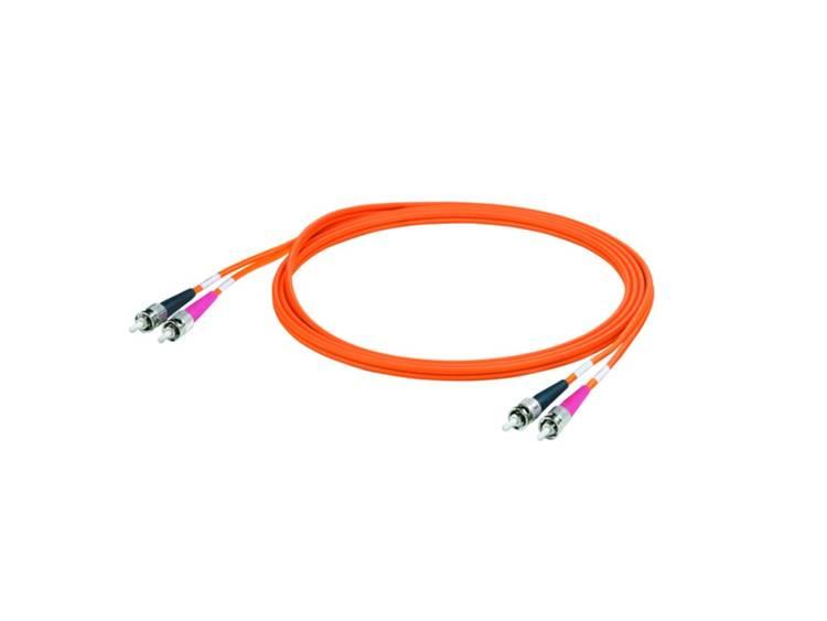 Kabel Weidmüller Glasvezel [1x ST stekker 1x ST stekker] 625 125µ 5 m