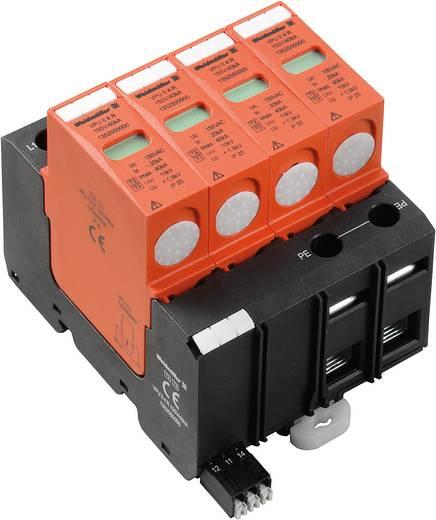 Weidmüller VPU II 4 R 150V/40kA 1352550000 Overspanningsafleider Overspanningsbeveiliging voor: Verdeelkast 20 kA