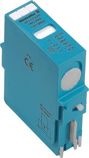 Weidmüller VPU II 0 N-PE 440V/40kA 1351180000 Insteekbare overspanningsafleider Overspanningsbeveiliging voor: Verdeelk
