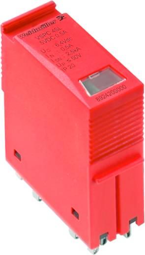Weidmüller VSPC 4SL 5VDC 8924200000 Insteekbare overspanningsafleider Overspanningsbeveiliging voor: Verdeelkast 2.5 kA