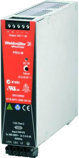 Weidmüller CP M SNT3 120W 24V 5A Din-rail netvoeding 24 V/DC 5 A 120 W 1 x