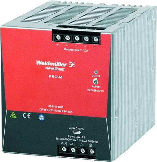 Weidmüller CP M SNT3 500W 24V 20A Din-rail netvoeding 24 V/DC 20 A 500 W 1 x
