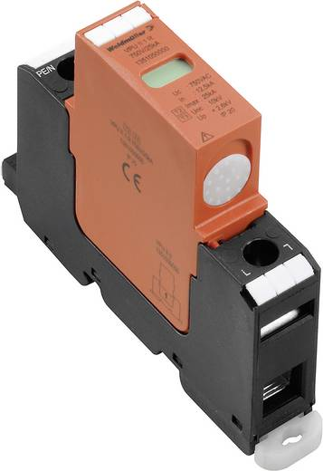 Weidmüller VPU II 1 R 750V / 40kA 1351050000 Overspanningsafleider Overspanningsbeveiliging voor: Verdeelkast 12.5 kA