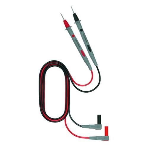 Veiligheidsmeetsnoerenset Weidmüller 125S_2606 [ Banaanstekker 4 mm - Testpunt] 1 m Zwart, Rood