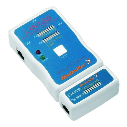 Weidmüller LAN USB TESTER Netwerkkabeltestapparaat, kabeltester Geschikt voor LAN, US