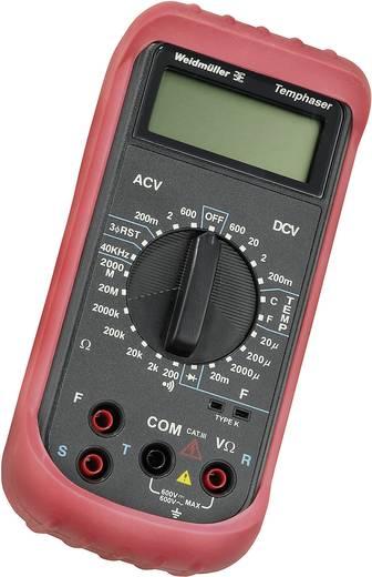 Multimeter Weidmüller TEMPHASER CAT III 600 V Fabrieksstandaard (zonder certificaat)