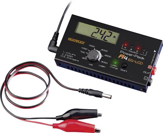 Power Peak A4 EQ-LCD Modelbouw oplader 12 V 3 A NiCd, NiMH, Li-poly, LiFePO