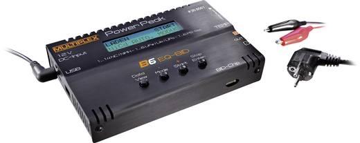 Power Peak B6 EQ-BID Modelbouw multifunctionele lader 12 V, 220 V 5 A Lood, Li-poly, Li-ion, LiFePO, NiCd, NiMH