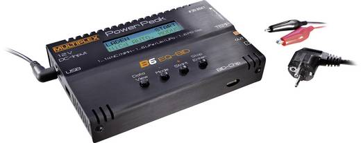 Power Peak B6 EQ-BID Modelbouw multifunctionele lader 12 V, 220 V 5 A Lood, Li-poly, Li-ion, NiCd, NiMH
