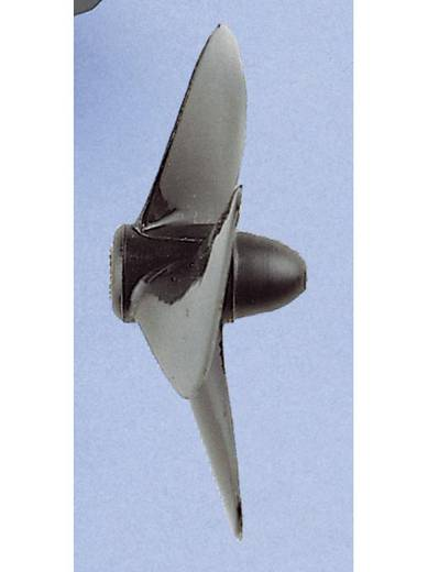 Graupner 3-blads Scheepsschroef Links Kunststof 45 mm Stijging: 24 mm M4