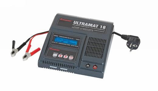 Graupner Ultramat 18 Modelbouw multifunctionele lader 220 V 20 A Lood, Li-ion, Li-poly, NiMH, NiCd
