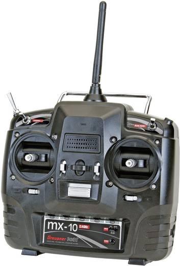 Graupner mx-10 Hott RC handzender 2,4 GHz Aantal kanalen: 5 Incl. ontvanger