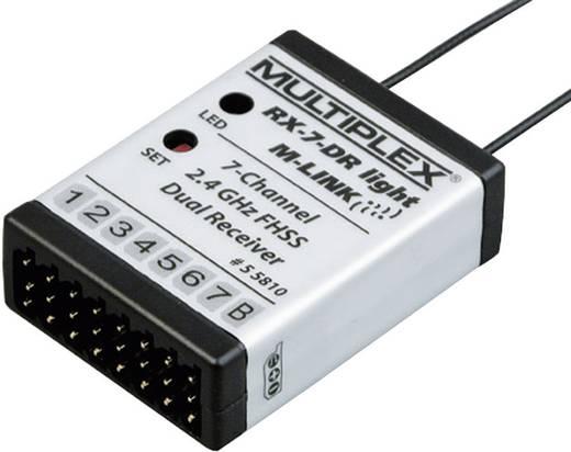 Multiplex 55810 7-kanaals ontvanger 2,4 GHz Stekkersysteem Uni (Graupner/JR/Futaba)