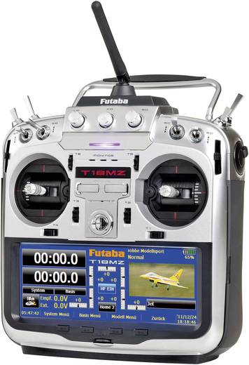 Futaba T18MZ - R7008SB RC handzender 2,4 GHz Aantal kanalen: 18 Incl. ontvanger