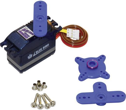 Bluebird Standaard servo BMS-621DMG Digitale servo Materiaal (aandrijving): Metaal Stekkersysteem: JR