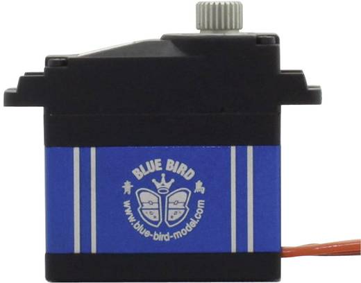 Bluebird Midi-servo BMS-390 DMH Digitale servo Materiaal (aandrijving): Metaal Stekkersysteem: JR