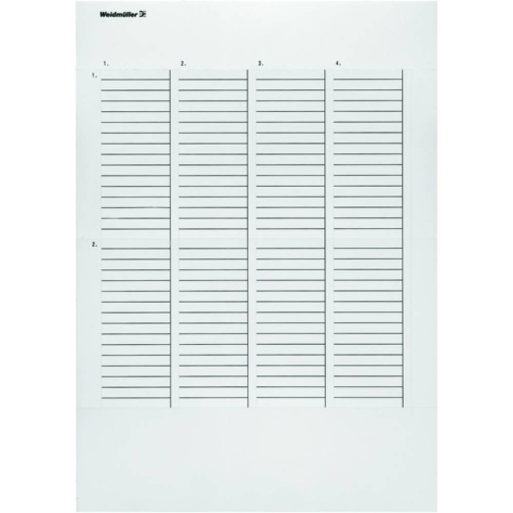 Weidmüller 1804480000 ET S7 / 12/50 GE A4 Märkningsystem skrivare Utskriftsområde: 12 x 50 mm Gul Antal märkningar: 840 10 st