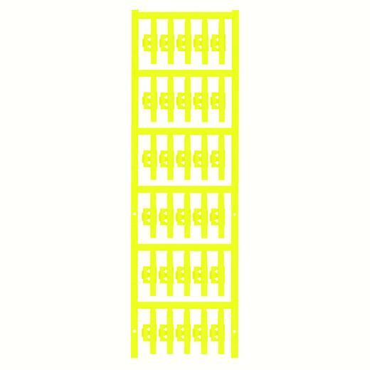 Kabelmarkering Montagemethode: Vastklemmen Markeringsvlak: 30 x 4.10 mm Geschikt voor serie Enkele aders Geel Weidmüller