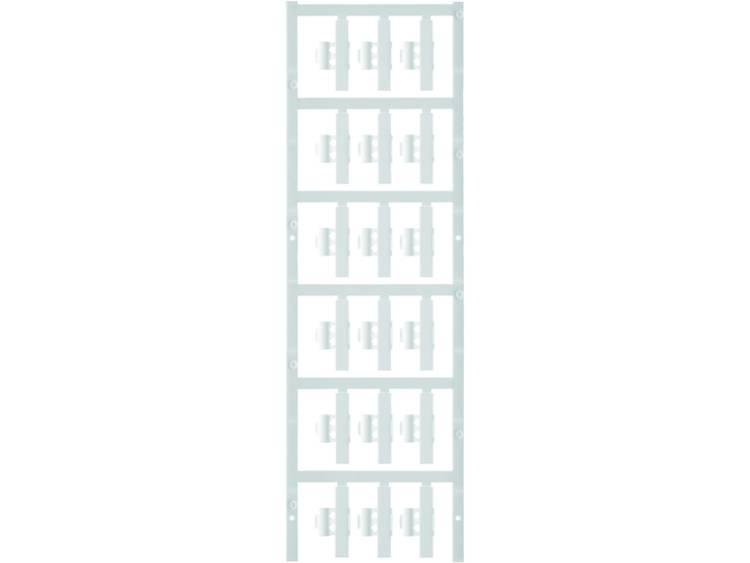 Kabelmarkering Montagemethode: Vastklemmen Markeringsvlak: 30 x 5.80 mm Geschikt voor serie Enkele aders Wit Weidmüller SFC 2/30 NEUTRAL WS 1805870000 Aantal