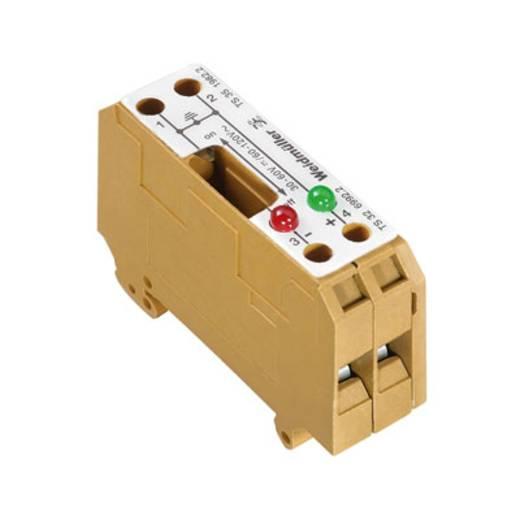 Scheidings- en meetscheidingsserieklem SAKT E/35 2LD 120VAC 0198220000 Weidmüller 5 stuks