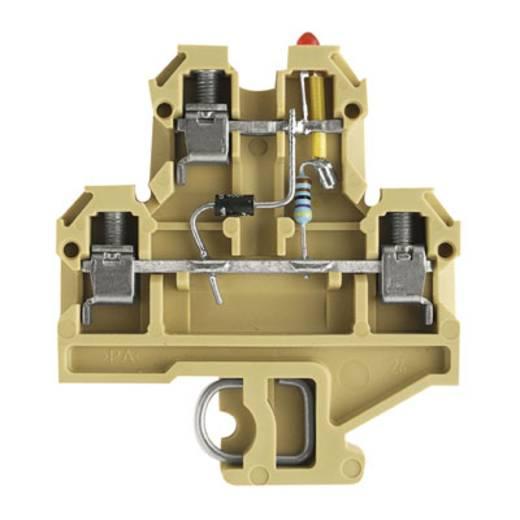 Doorgangsserieklem DK 4/35 LD ROT 24VDC Weidmüller Inhoud: 25 stuks