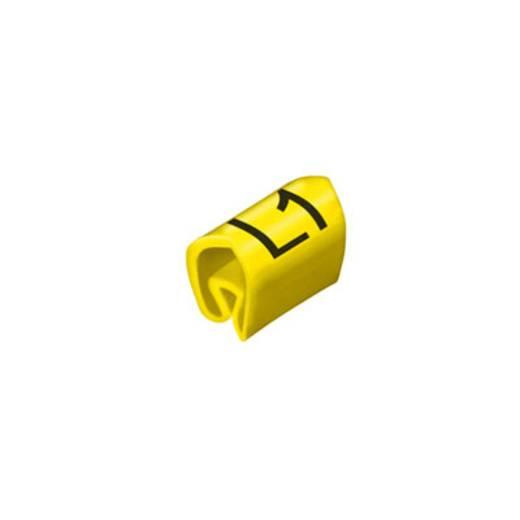 Leidingmarkeerder CLI C 1-6 GE/SW L1 MP Weidmüller Inhoud: 100 stuks