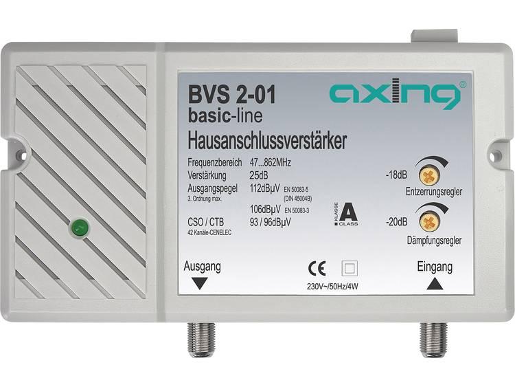 Axing BVS 2-01 Retourkanaal passief: MHz Versterking: 25 dB