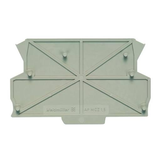 Weidmüller AP MCZ1.5 SW DIN-rail-behuizing zijkant 91 x 1.5 x 55.85 50 stuks