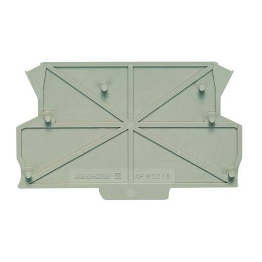 Weidmüller SMSE FE MCZ 1.5/PE DIN-rail-behuizing zijkant 40 x 70 x 90 100 stuks
