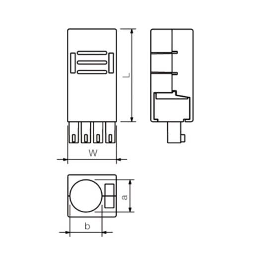 Connectoren voor printplaten Weidmüller 1005380000 Inhoud: 10 stuks