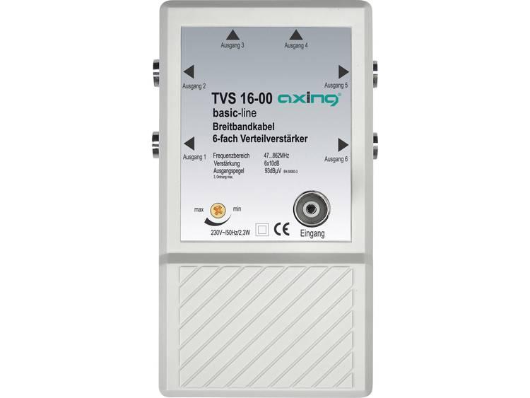 Meerbands antenne-signaal-versterker TVS 16 Frequentiebereik: 47 862 MHz Versterking: 6 x 10 dB