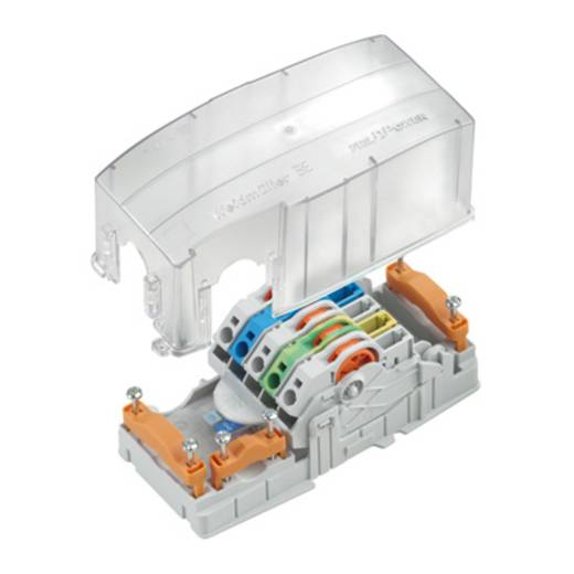 Weidmüller PTS 4 MPB 1010910000 Veiligheids-connector Flexibel: 0.5-4 mm² Massief: 0.5-4 mm² Aantal polen: 5 10 stuks Zw