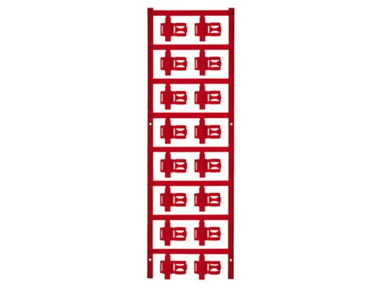 Kabelmarkering Montagemethode: Vastklemmen Markeringsvlak: 21 x 5 mm Geschikt voor serie Enkele aders Rood Weidmüller SFC 3/21 MC NE RT 1025290000 Aantal