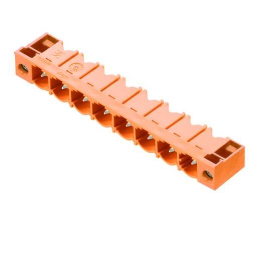 Connectoren voor printplaten SL 7.62HP/09/90F 3.2 SN OR BX Weidmüller Inhoud: 50 stuks
