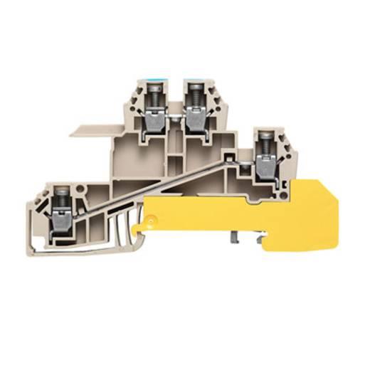Verdeler-serieklem voor N-rail WDL 2.5/S/N/L/PE Weidmüller Inhoud: 50 stuks