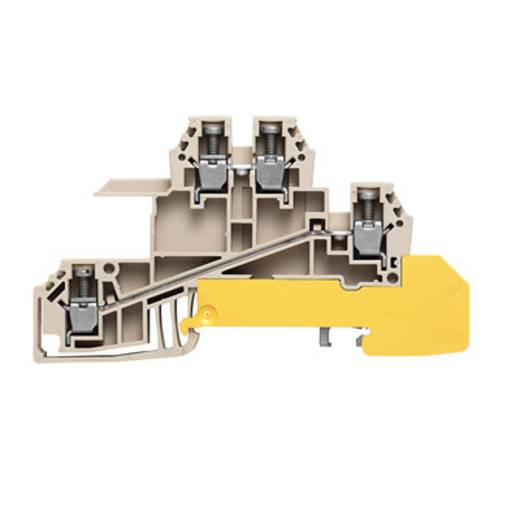 Verdeler-serieklem voor N-rail WDL 2.5/S/L/L/PE 1031100000 Weidmüller 50 stuks
