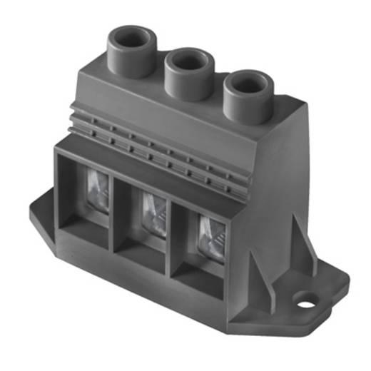 Klemschroefblok 35.00 mm² Aantal polen 1 LXXX 15.00/01/90F 4.5SN BK BX Weidmüller Zwart 20 stuks