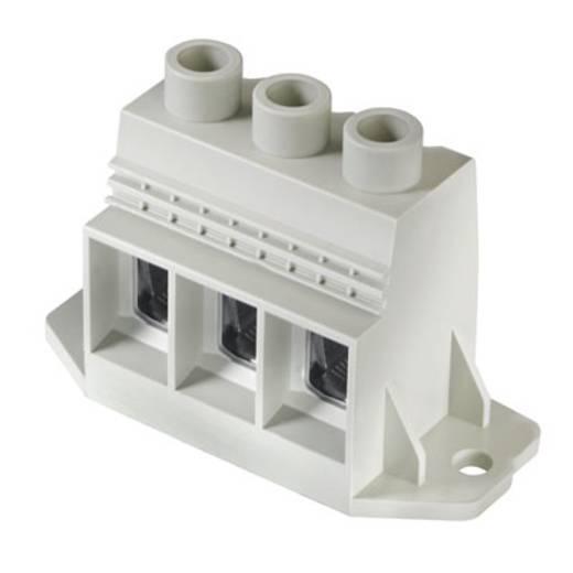 Klemschroefblok 35.00 mm² Aantal polen 3 LXXX 15.00/03/90F 4.5SN GY BX Weidmüller Grijs 10 stuks