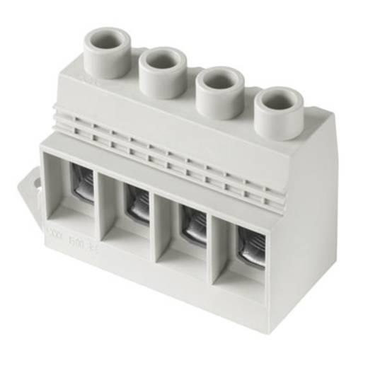 Klemschroefblok 35.00 mm² Aantal polen 3 LXXX 15.00/03/90FL 4.5SN GY BX Weidmüller Grijs 10 stuks