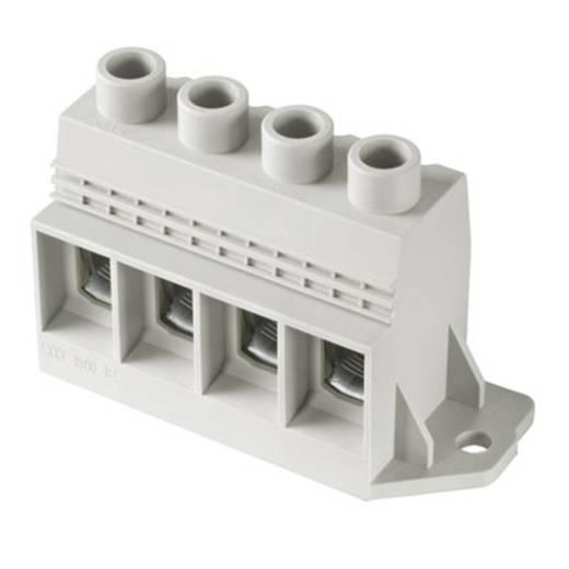 Klemschroefblok 35.00 mm² Aantal polen 4 LXXX 15.00/04/90FR 4.5SN GY BX Weidmüller Grijs 10 stuks