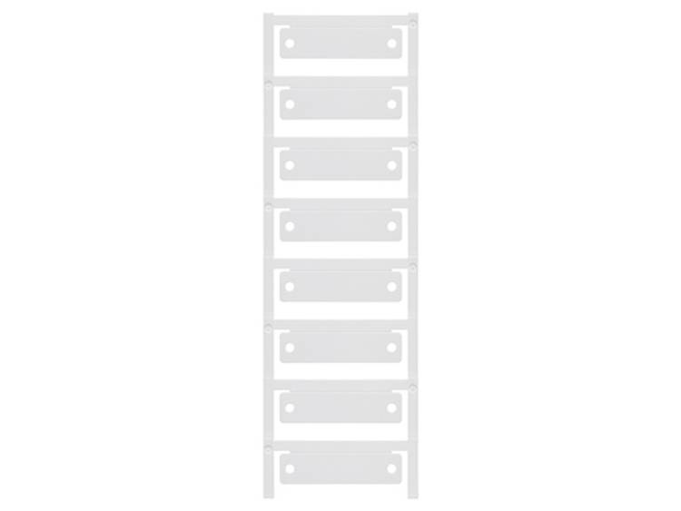Apparaatmarkering Montagemethode: Kabelbinder Markeringsvlak: 60 x 15 mm Geschikt voor serie Apparatuur en schakelapparatuur, Universeel gebruik Rood