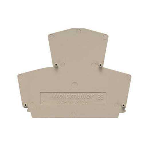 Afsluitplaat WAP WDK2.5 1059100000 Weidmüller 20 stuks